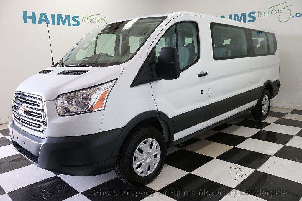 """2018 Ford Transit Passenger Wagon T-350 148"""" Low Roof XLT Swing-Out RH Dr - 18163106 - 0"""
