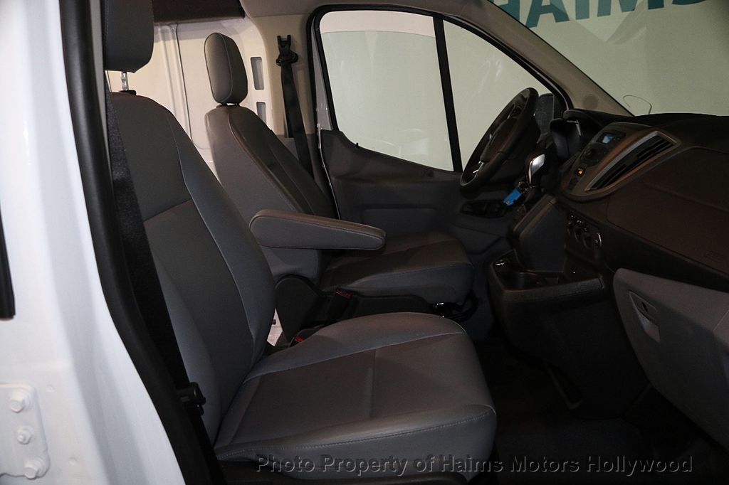"2018 Ford Transit Van T-150 130"" Low Rf 8600 GVWR Swing-Out RH Dr - 17656285 - 14"