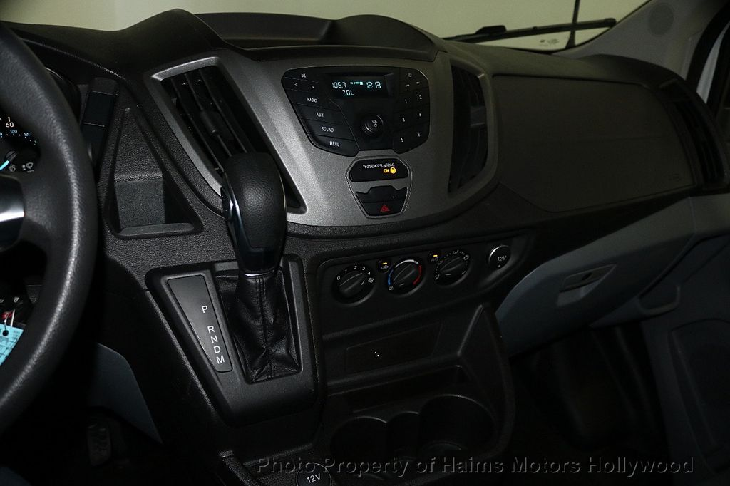 "2018 Ford Transit Van T-150 130"" Low Rf 8600 GVWR Swing-Out RH Dr - 17656285 - 17"