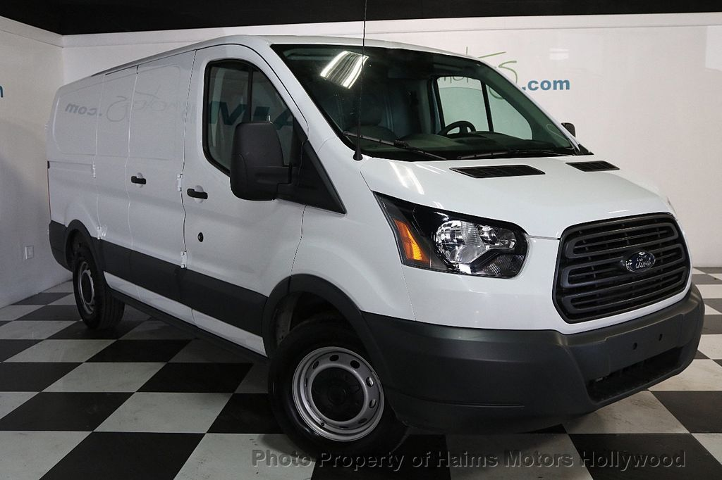 "2018 Ford Transit Van T-150 130"" Low Rf 8600 GVWR Swing-Out RH Dr - 17656285 - 3"