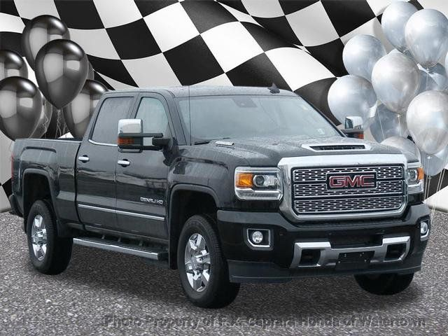 2018 Used Gmc Sierra 3500hd Denali At F X Caprara Honda Of