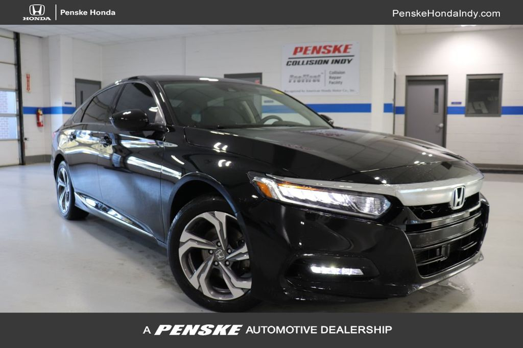 2018 Honda Accord Sedan >> 2018 Used Honda Accord Sedan Ex 1 5t Cvt At Penske Honda Serving Indianapolis Carmel Fishers In Iid 19658213