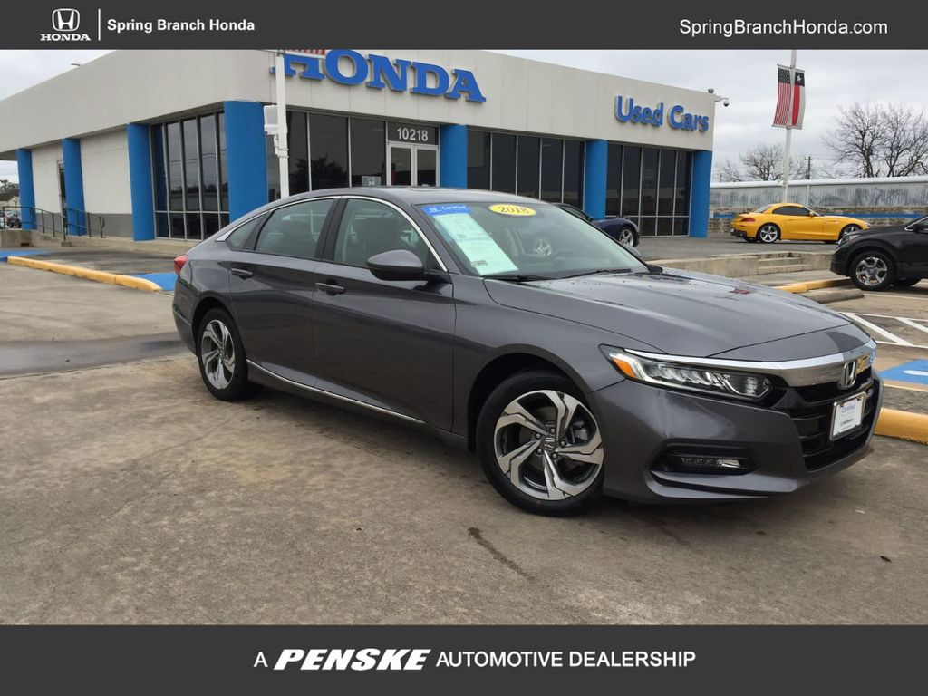 2018 Honda Accord Sedan >> 2018 Used Honda Accord Sedan Ex L At Honda Of Spring Serving Houston Woodlands Tomball Tx Iid 19733217
