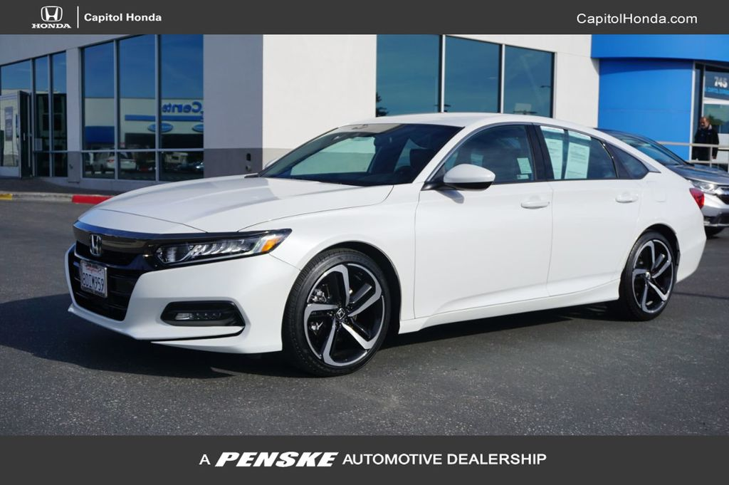 2018 Honda Accord Sedan >> 2018 Used Honda Accord Sedan Sport 1 5t Cvt At Capitol Honda Serving San Jose Santa Clara Milpitas Ca Iid 19660902