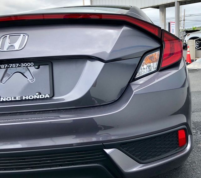 2018 Used Honda Civic Coupe LX-P CVT Coupe for Sale in San