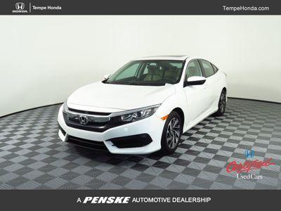 2018 Honda Civic Sedan EX CVT Sedan