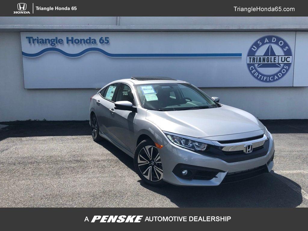 2018 Honda Civic Sedan EX-L CVT w/Navigation - 18150150 - 0