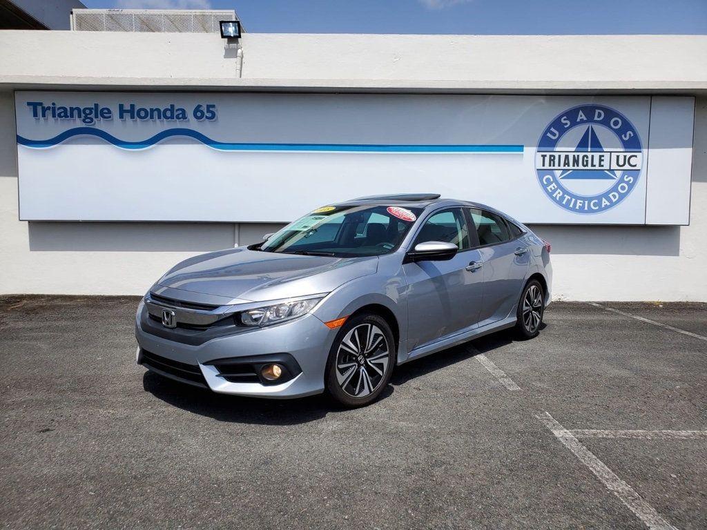2018 Honda Civic Sedan EX-L CVT w/Navigation - 18150150 - 1