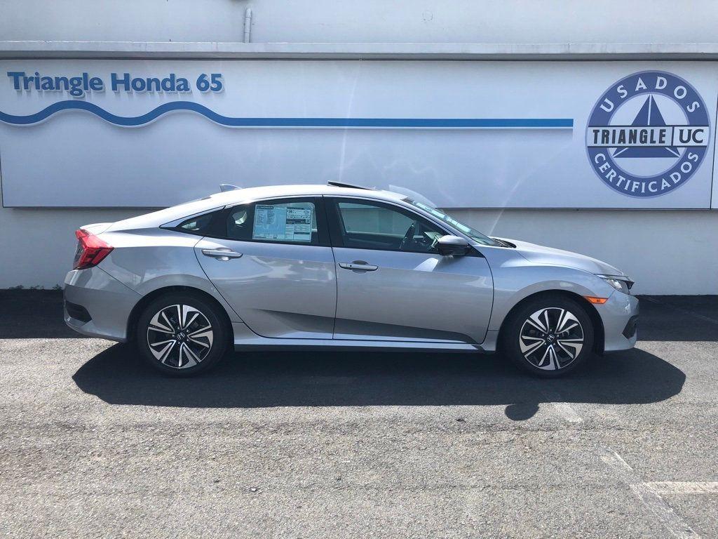 2018 Honda Civic Sedan EX-L CVT w/Navigation - 18150150 - 2