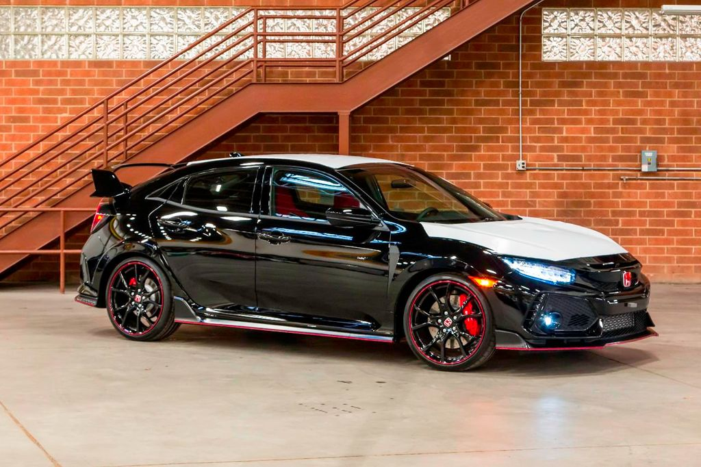 2018 Honda Civic Type R Touring Manual Type R   17608957