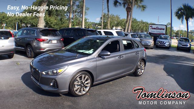 2018 Used Hyundai Elantra Gt Sport W Technology Pkg 3 850 Value Only 3 360 Miles At Tomlinson Motor Company Serving Gainesville Fl And The