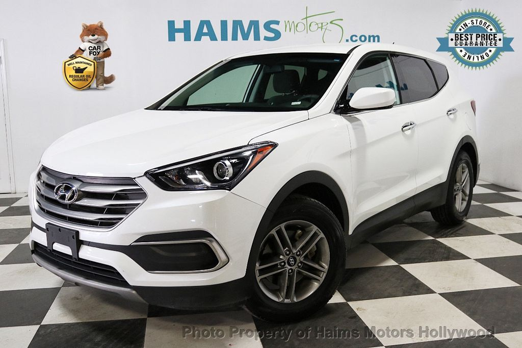 2018 Hyundai Santa Fe Sport 2 4l Automatic 18143301