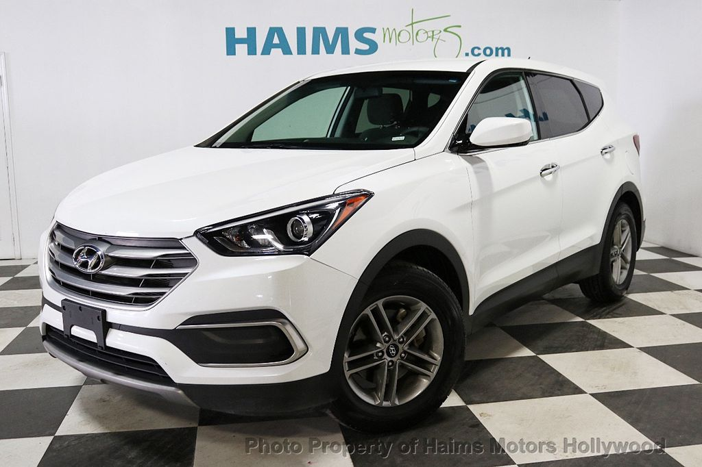 2018 Hyundai Santa Fe Sport 2.4L Automatic - 18143301 - 1