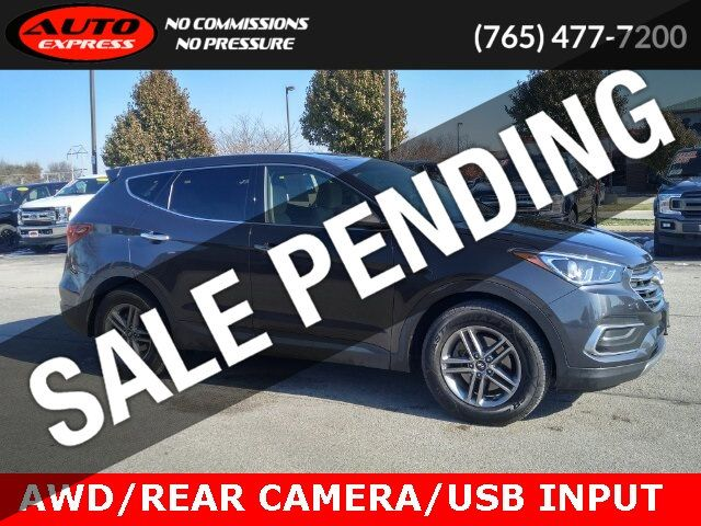 "2018 Hyundai Santa Fe Sport Sport AWD 17"" Alloys Rear Camera Bluetooth USB Input Spoiler - 19519809 - 0"