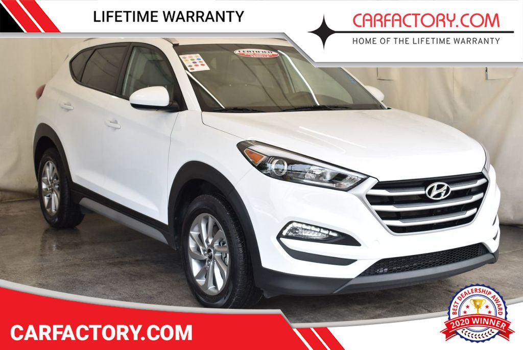 2018 Used Hyundai Tucson Se Awd At Car Factory Outlet Serving Miami