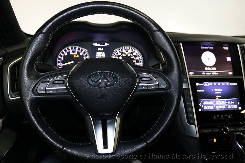2018 INFINITI Q60 3.0t LUXE AWD - 18451194 - 27