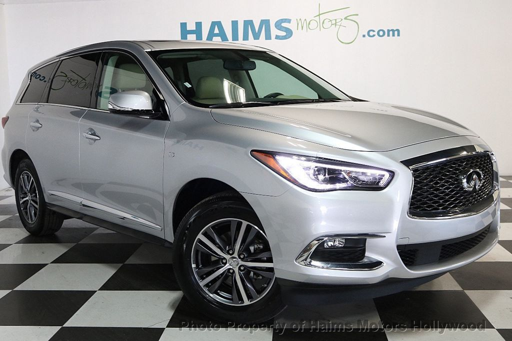 2018 used infiniti qx60 fwd at haims motors ft lauderdale serving lauderdale lakes fl iid 17446290. Black Bedroom Furniture Sets. Home Design Ideas