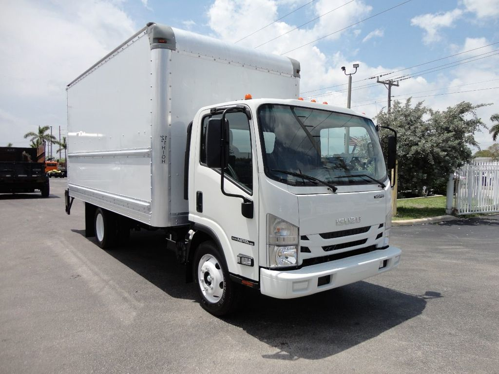 2018 Used Isuzu NPR HD 16FT DRY BOX  TUCK UNDER LIFTGATE BOX
