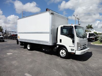 2018 Isuzu NPR HD 16FT DRY BOX..TUCK UNDER LIFTGATE BOX TRUCK CARGO TRUCK