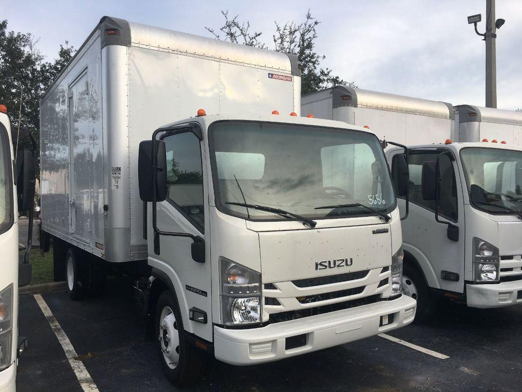 2018 Used Isuzu Npr Hd 16ft Dry Box Tuck Under Liftgate Box Truck Cargo Truck At Tri Leasing
