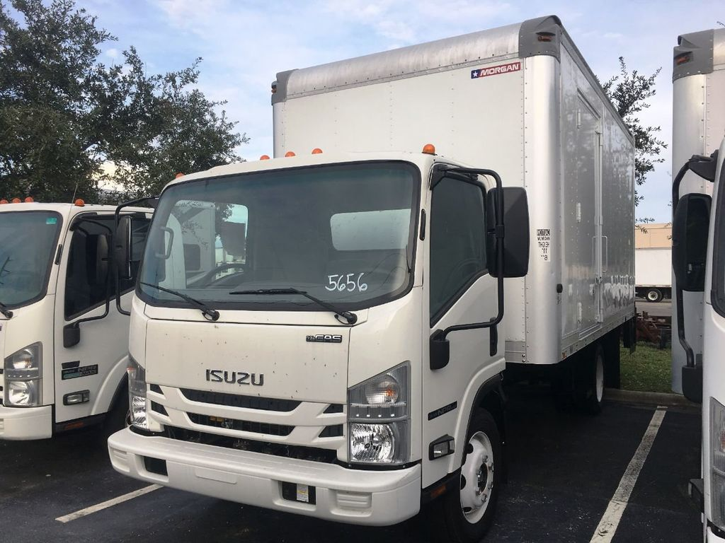 2018 Isuzu NPR HD 16FT DRY BOX.TUCK UNDER LIFTGATE BOX TRUCK CARGO TRUCK - 18340875 - 1