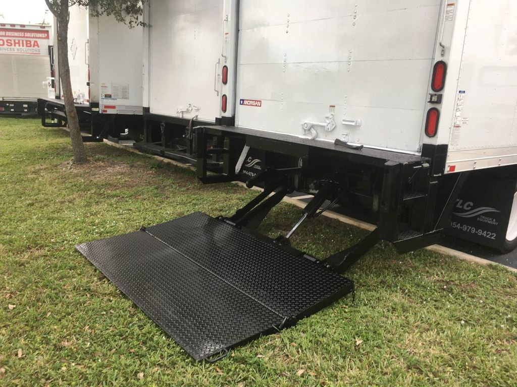 2018 Isuzu NPR HD 16FT DRY BOX.TUCK UNDER LIFTGATE BOX TRUCK CARGO TRUCK - 18340875 - 4
