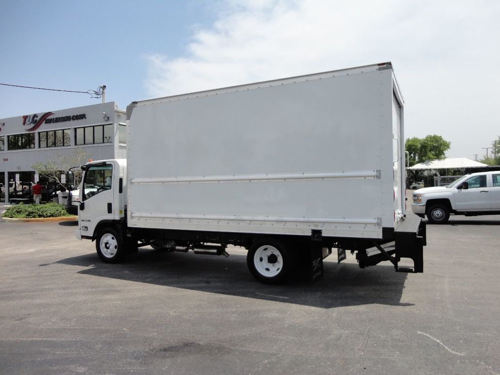2018 Isuzu NPR HD 16FT DRY BOX..TUCK UNDER LIFTGATE BOX TRUCK CARGO TRUCK - 17609040 - 10