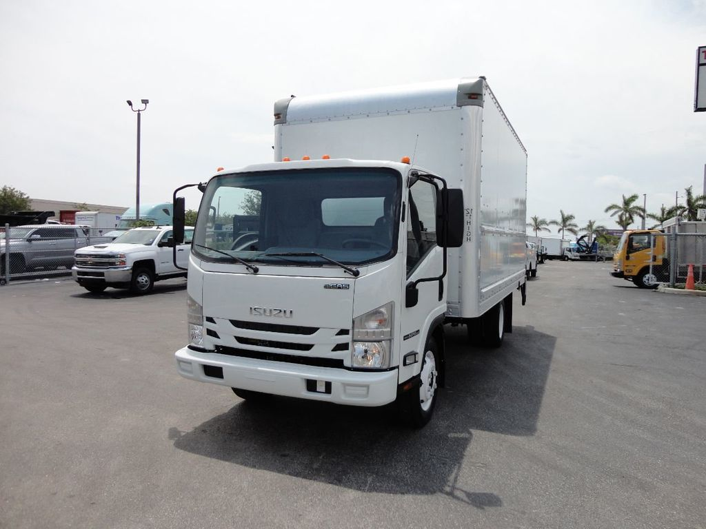 2018 Isuzu NPR HD 16FT DRY BOX..TUCK UNDER LIFTGATE BOX TRUCK CARGO TRUCK - 17609040 - 1