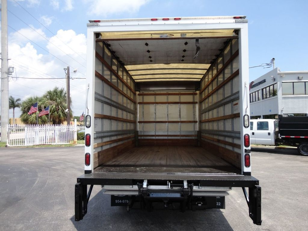 2018 Isuzu NPR HD 16FT DRY BOX..TUCK UNDER LIFTGATE BOX TRUCK CARGO TRUCK - 17609040 - 19