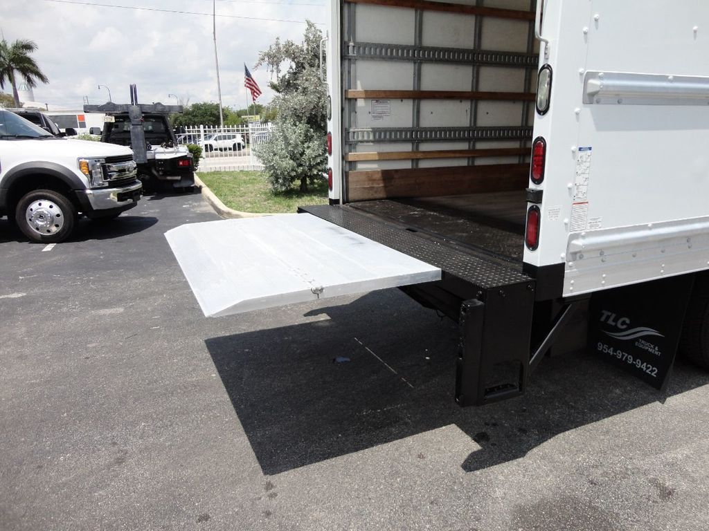 2018 Isuzu NPR HD 16FT DRY BOX..TUCK UNDER LIFTGATE BOX TRUCK CARGO TRUCK - 17609040 - 23