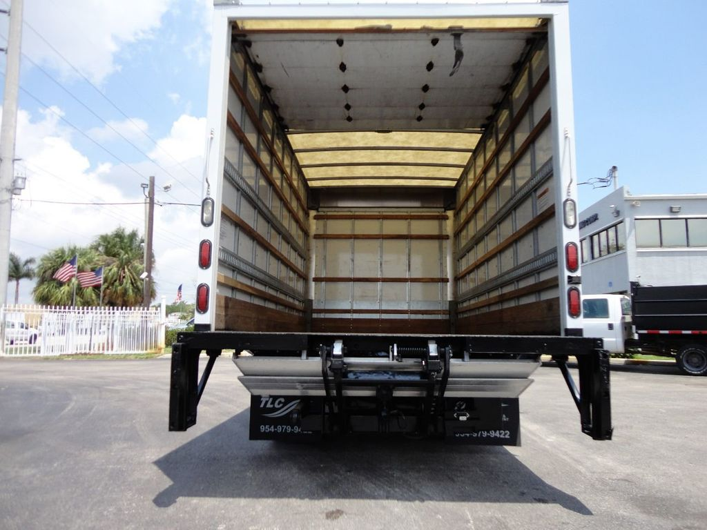 2018 Isuzu NPR HD 16FT DRY BOX..TUCK UNDER LIFTGATE BOX TRUCK CARGO TRUCK - 17609040 - 24