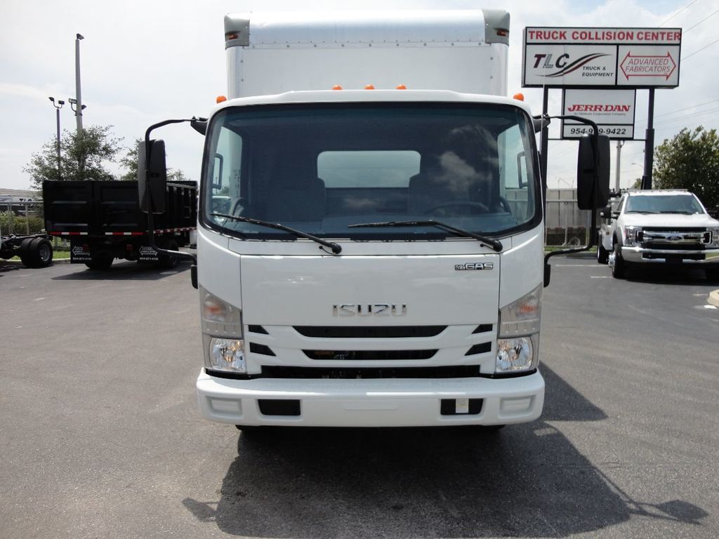 2018 Isuzu NPR HD 16FT DRY BOX..TUCK UNDER LIFTGATE BOX TRUCK CARGO TRUCK - 17609040 - 2