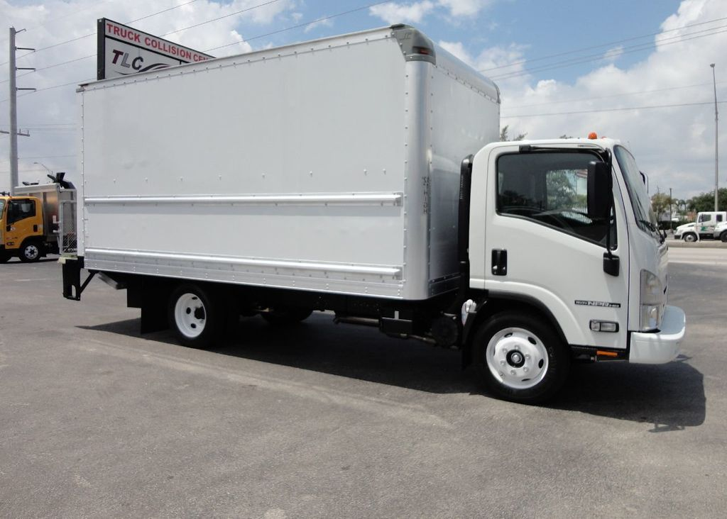 2018 Isuzu NPR HD 16FT DRY BOX..TUCK UNDER LIFTGATE BOX TRUCK CARGO TRUCK - 17609040 - 4