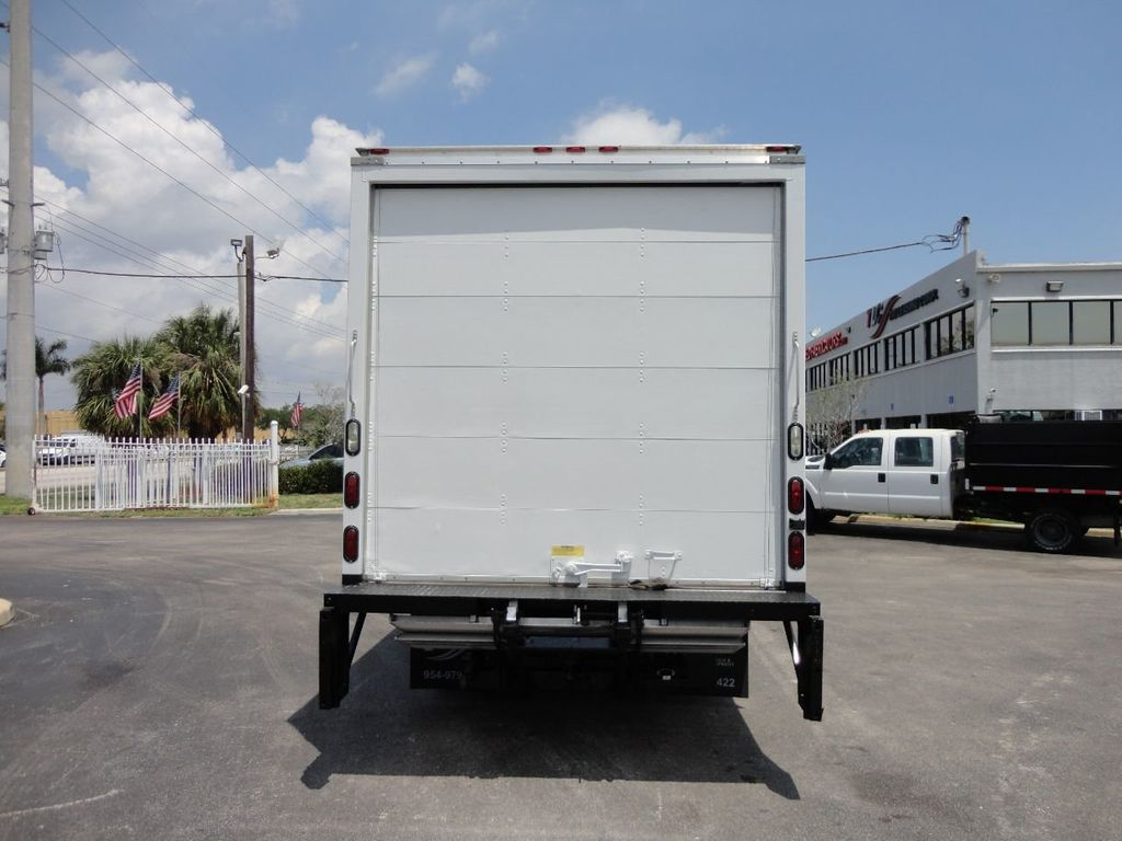 2018 Isuzu NPR HD 16FT DRY BOX..TUCK UNDER LIFTGATE BOX TRUCK CARGO TRUCK - 17609040 - 8