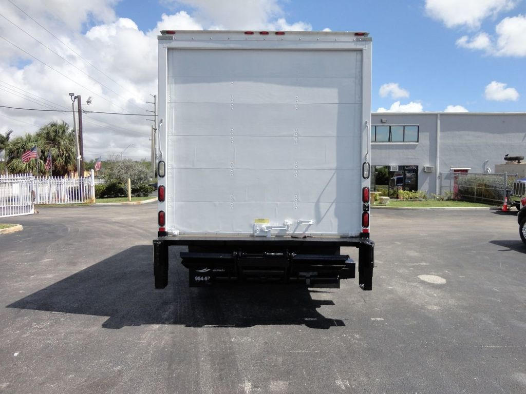 2018 Isuzu NPR HD 16FT DRY BOX..TUCK UNDER LIFTGATE BOX TRUCK CARGO TRUCK - 17637486 - 9