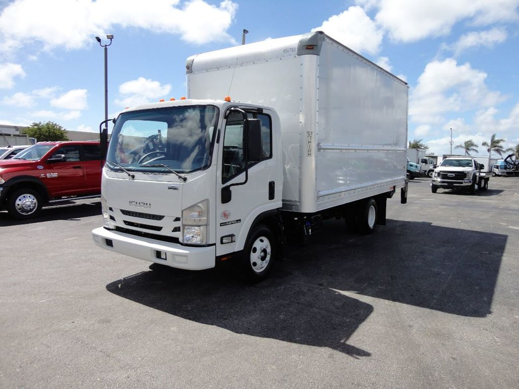 2018 Isuzu NPR HD 16FT DRY BOX..TUCK UNDER LIFTGATE BOX TRUCK CARGO TRUCK - 17637486 - 1