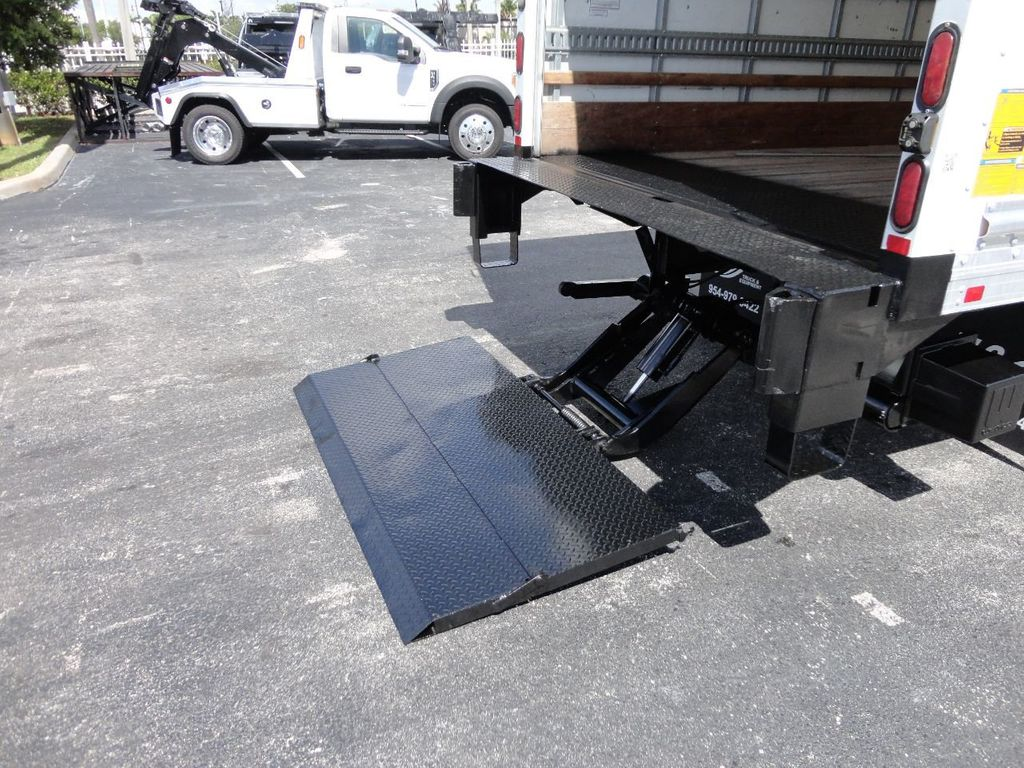 2018 Isuzu NPR HD 16FT DRY BOX..TUCK UNDER LIFTGATE BOX TRUCK CARGO TRUCK - 17637486 - 21