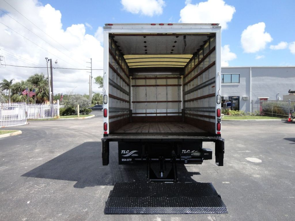 2018 Isuzu NPR HD 16FT DRY BOX..TUCK UNDER LIFTGATE BOX TRUCK CARGO TRUCK - 17637486 - 23