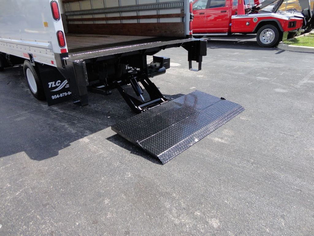 2018 Isuzu NPR HD 16FT DRY BOX..TUCK UNDER LIFTGATE BOX TRUCK CARGO TRUCK - 17637486 - 24