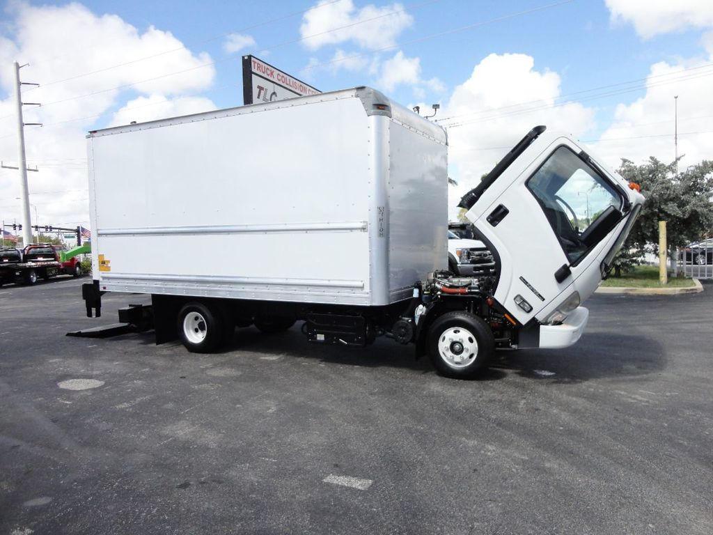 2018 Isuzu NPR HD 16FT DRY BOX..TUCK UNDER LIFTGATE BOX TRUCK CARGO TRUCK - 17637486 - 36