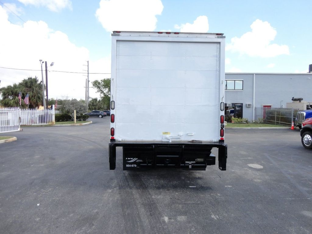 2018 Isuzu NPR HD 16FT DRY BOX..TUCK UNDER LIFTGATE BOX TRUCK CARGO TRUCK - 17637486 - 37