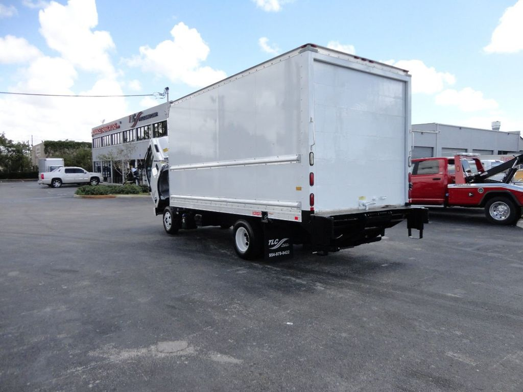 2018 Isuzu NPR HD 16FT DRY BOX..TUCK UNDER LIFTGATE BOX TRUCK CARGO TRUCK - 17637486 - 38