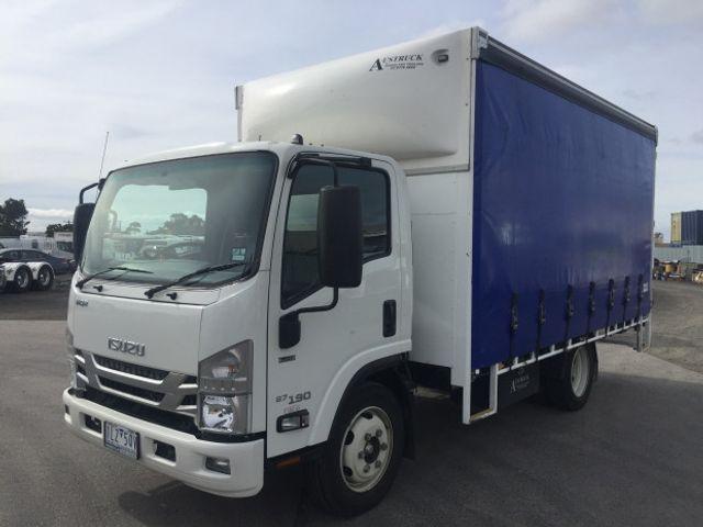 2018 Used Isuzu NQR 87/80-190 2018 NQR 87-190 CURTAINSIDER 4x2 at Penske  Commercial Vehicles Australia, QLD, IID 18801077