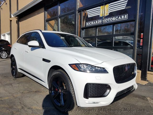 Used Jaguars For Sale >> 2018 Used Jaguar F Pace S Awd At Richards Motorcars Serving Boston Area Lynnfield Peabody Ma Iid 18527217