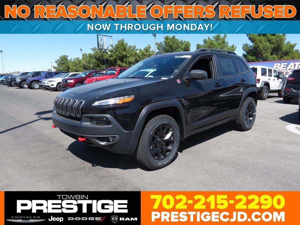 2018 Jeep Cherokee Trailhawk 4x4 16816460 0