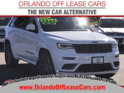 2018 Jeep Grand Cherokee High Altitude 4x2