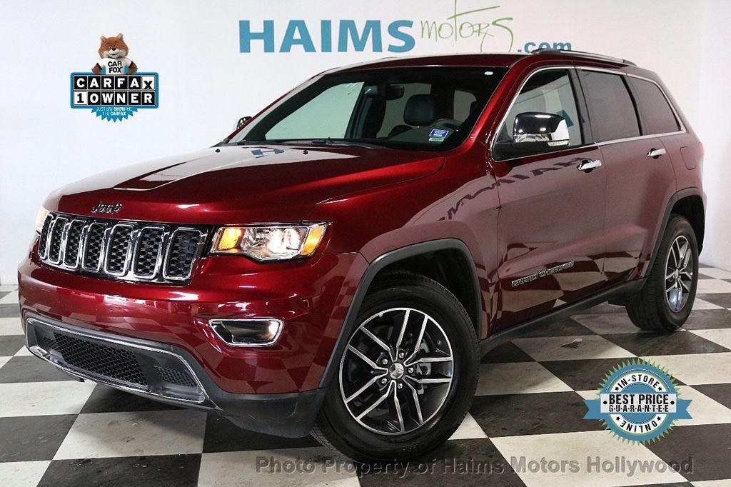 2018 Jeep Grand Cherokee Limited 4x2 - 18459935 - 0