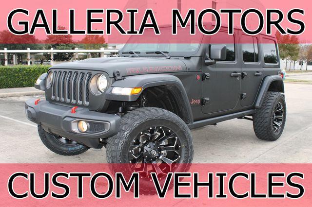 2018 Jeep RUBICON Wrapped Rubicon 3 6L V6 4WD Custom Lift & Interior SUV  for Sale Houston, TX - $79,980 - Motorcar com