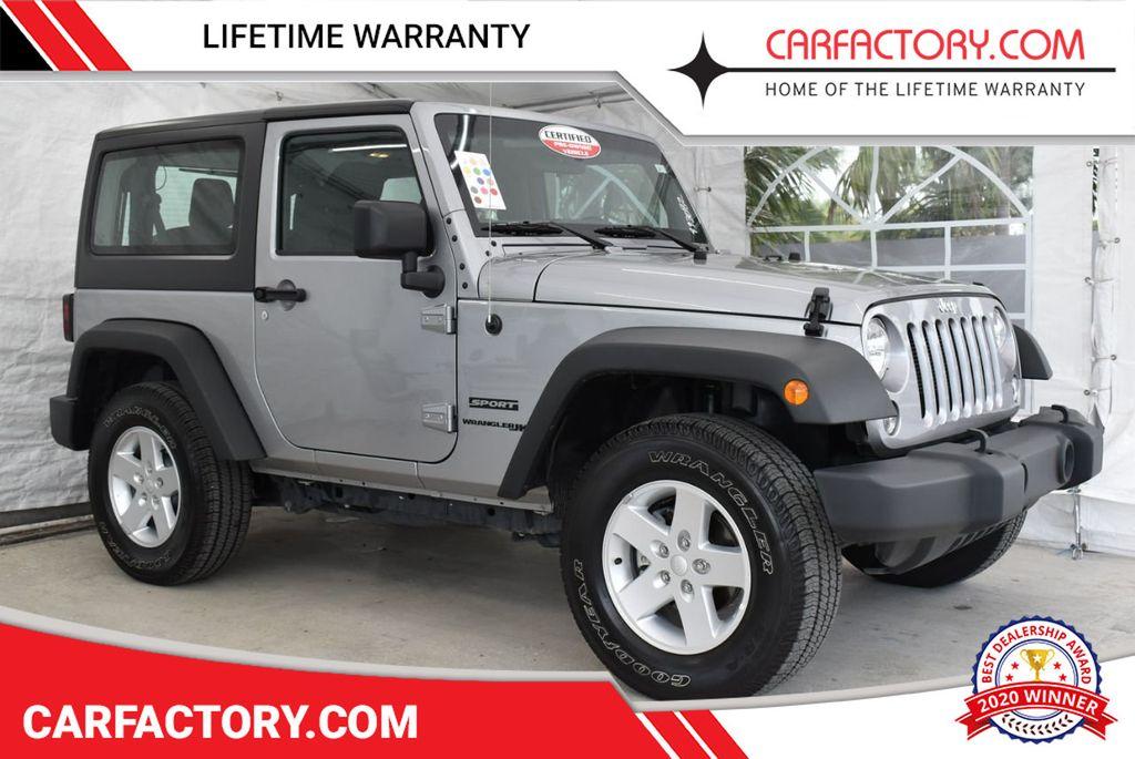 2018 Jeep Wrangler JK  - 18689054 - 0