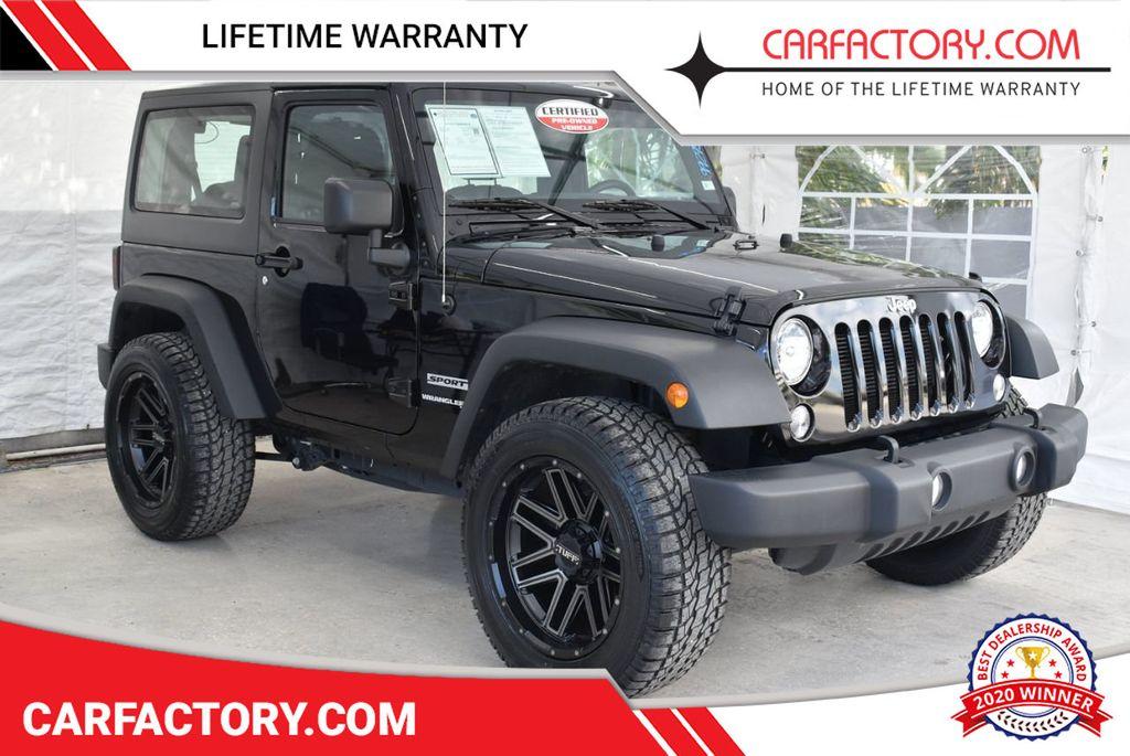 2018 Jeep Wrangler JK 1XH4 - 18415862 - 0